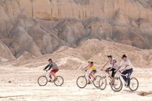 מסלול רכיבת אופניים בנחל חצבה